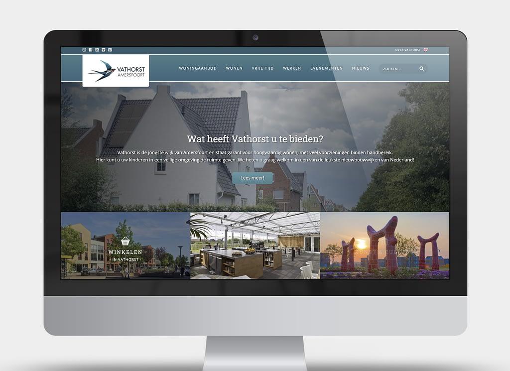 Webiste-Vathorst-homepage-endure design