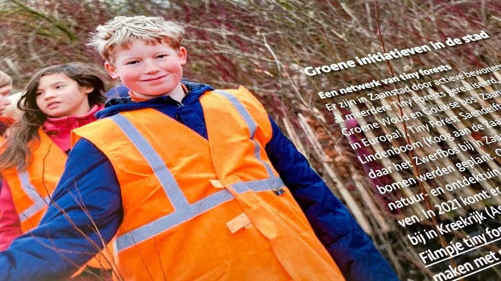 Brochure Zaans Klimaatakkoord ontworpen door Enduredesign